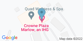 Google Map for Aqua Bar & Conservatory at Crowne Plaza Marlow