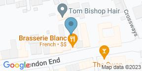 Google Map for Brasserie Blanc Beaconsfield