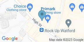 Google Map for Bill's Restaurant & Bar - Watford