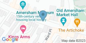 Google Map for Pluma restaurant
