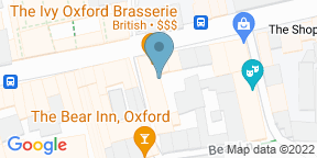 Google Map for The Ivy Oxford Brasserie