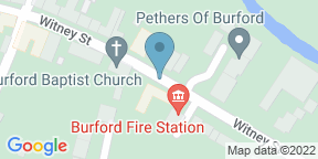 Google Map for The Angel at Burford