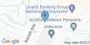 Google Map for Holiday Inn - Gloucester
