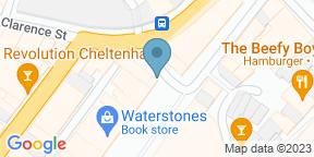 Google Map for Brasserie Blanc Cheltenham
