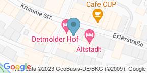 Google Map for Jan's Restaurant