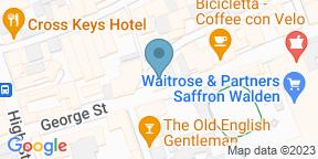 Google Map for DOUGH&co Saffron Walden