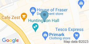 Google Map for Bill's Restaurant & Bar - Worcester