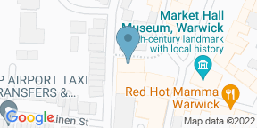 Google Map for Rose & Crown