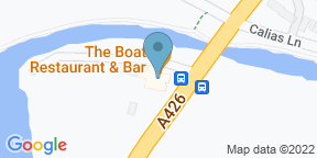 Google Map for The Boat Inn