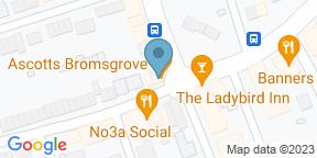 Google Map for Ascotts Bromsgrove