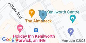 Google Map for The Almanack