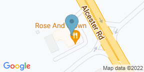 Google Map for The Rose and Crown