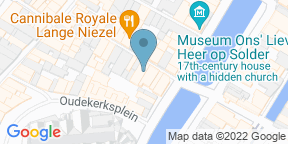 Google Map for Pizzeria Bella Roma Amsterdam