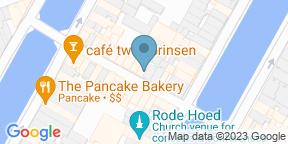 Google Map for Restaurant Bleu