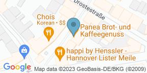 Google Map for Panea Brot- & Kaffeegenuss