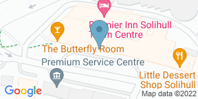 Google Map for Indian Brewery Solihull