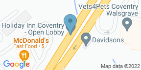 Google Map for Holiday Inn Coventry - Open Lobby