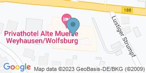 Google Map for Restaurant Alte Mühle
