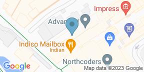 Google Map for Malmaison Brasserie - Birmingham