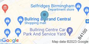 Google Map for Bill's Restaurant & Bar - Birmingham