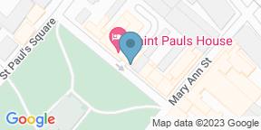 Google Map for Saint Pauls House