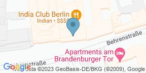 India Club Berlin auf Google Maps