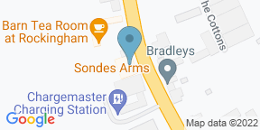 Google Map for Sondes Arms