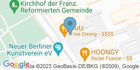 Schnitzelei Mitte auf Google Maps