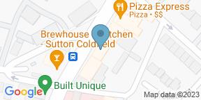 Google Map for Slug & Lettuce - Sutton Coldfield