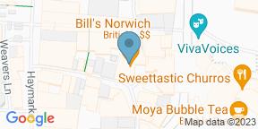 Google Map for Bill's Restaurant & Bar - Norwich