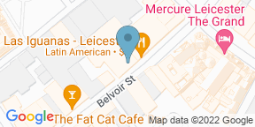 Google Map for Walkabout Leicester