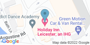 Google Map for Holiday Inn - Leicester