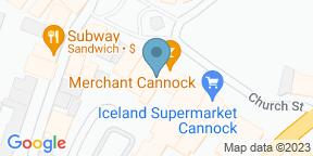 Google Map for The Merchant Cannock