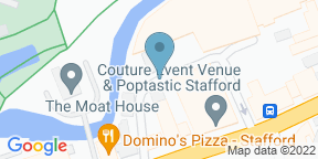 Google Map for The Yard Stafford