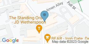 Google Map for Slug & Lettuce - Derby
