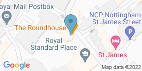 Google Map for The Roundhouse