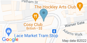 Google Map for Louie's Hot Chicken - Nottingham