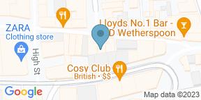 Google Map for Faradays