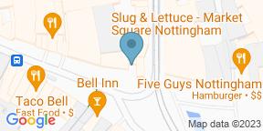 Google Map for Slug & Lettuce - Nottingham Market Square