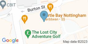 Google Map for Slug & Lettuce - Nottingham