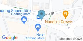 Google Map for Gourmet 4 Crewe