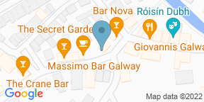 Google Map for The Blue Note