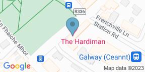 Google Map for Gaslight Brasserie