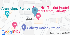 Google Map for Eyre Square Hotel