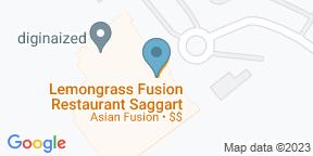 Google Map for Lemongrass Fusion Restaurant Citywest