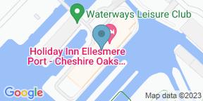Google Map for Locks Restaurant at Holiday Inn Ellesmere Port