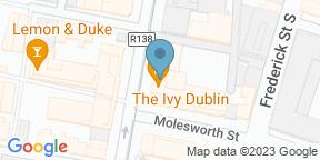 Google Map for The Ivy Dawson Street