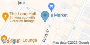 Google Map for Fade Street Social Wood Fired Menu & Cocktail Bar