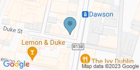 Google Map for Carluccio's - Dublin Dawsons Street