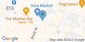 Google Map for Drury Buildings